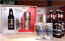 Sapporo thay đổi diện mạo sản phẩm