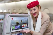 Emirates giới thiệu hệ thống giải trí thế hệ mới trên máy bay