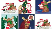 Sticker Giáng Sinh cho Zalo