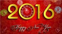 Bộ ảnh nền đẹp mắt cho năm mới 2016