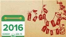 Lịch Vạn Niên 2016: Xem lịch âm dương trên di động