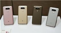 LG G5 trình làng: Thiết kế module độc đáo, camera mạnh