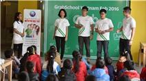 Grab tổ chức GrabSchool cho con cái tài xế tại Hà Nội