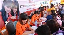 Gian hàng ĐH FPT thu hút hơn 1.000 phụ huynh và thí sinh