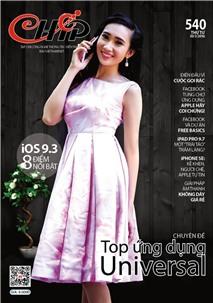 Mục lục Tạp chí e-CHÍP Mobile số 540 (Thứ Tư, 30/3/2016)