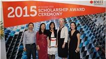 RMIT Việt Nam dành 31 tỉ đồng cho quỹ học bổng 2016