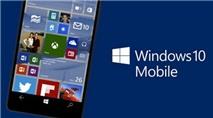 Xóa lịch sử cuộc gọi trên Windows 10 Mobile