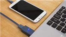 """Thủ thuật sạc pin cho smartphone khi laptop đang """"ngủ"""""""