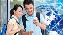 Cước kết nối dịch vụ điện thoại quốc tế chiều về là 1.100 đồng/phút