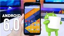 Cách khắc phục một số lỗi phổ biến trên Android 6 Marshmallow
