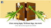 """""""Ông chủ"""" mạng xã hội Facebook chúc mừng Tết Đoan Ngọ"""