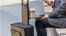Barracuda: vali có thể xếp gọn lại thành túi cầm tay, có thanh đỡ laptop, pin dự phòng