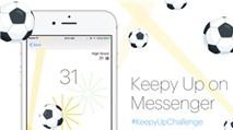 Facebook Messenger có thêm game bóng đá