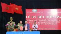 Học viện An ninh nhân dân và Bkav ký kết hợp tác