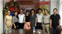 Tổng công ty viễn thông MobiFone thăm và chúc mừng Báo VietNamNet nhân dịp 21/6