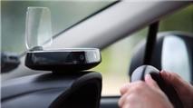 iScout - thiết bị HUD cho xe hơi: dẫn đường GPS, có camera điểm mù