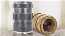 Chiêm ngưỡng ống kính Trioplan mạ vàng giá 3500 USD