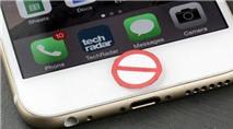 iPhone 7 sẽ sử dụng nút Home hoàn toàn mới?