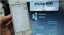 iPhone SE ruột iPhone 5 tràn ngập ở Sài Gòn