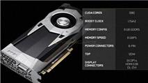 Hé lộ hiệu năng nVidia GeForce GTX 1060