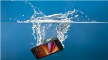 Làm gì khi điện thoại bị rơi xuống nước