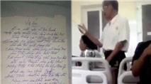 Cụ ông U70 viết thơ tình gửi cụ bà nằm viện gây xúc động