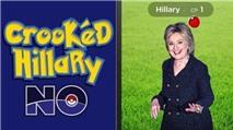 Hilary, Trump dùng Pokemon Go thu hút cử tri Mỹ