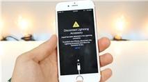 iOS 10 sẽ hiện cảnh báo nếu cổng Lighting bị ướt nước
