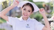 Hot girl y tá bỗng nổi tiếng khắp mạng xã hội thế giới