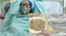 Cộng đồng mạng rơi nước mắt với clip mẹ ung thư gặp con lần đầu và lần cuối