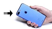 """Video rất rõ nét và đầy đủ về """"nguyên mẫu"""" iPhone 7 Plus màu xanh, bán ngày 16/9?"""
