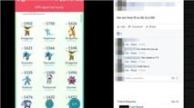 Kiếm tiền triệu nhờ bán tài khoản Pokemon Go ở Việt Nam