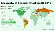 Tấn công tài chính tăng 16% vào Quý 2/2016
