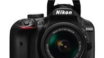 Cận cảnh máy ảnh Nikon D3400 mới ra mắt