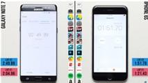 Galaxy Note 7 bị iPhone 6s vượt mặt về hiệu suất