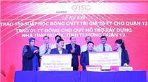 SaigonTech và QTSC trao 70 tỷ đồng học bổng cho Quận 12