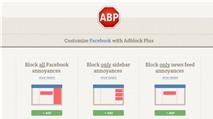Cách chặn Facebook và Google thu thập thông tin cá nhân