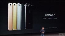 iPhone 7 chính thức ra mắt