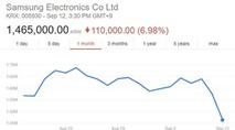 Samsung mất gần 19 tỉ USD vì vụ pin Note 7