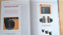 Leica 'Sofort': máy ảnh chụp lấy ngay, dùng film chuẩn Instax Mini