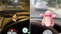 Vẫn có hàng nghìn người chơi Pokemon GO khi lái xe