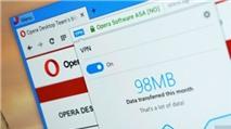 Trình duyệt Opera dành cho PC chính thức tích hợp VPN