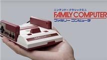 Nintendo ra mắt máy chơi game 4 nút cổ điển Famicom Mini
