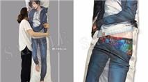 Gối ôm cực độc dành cho nữ tại Nhật Bản, in hình nam giới mặc mỗi quần lót