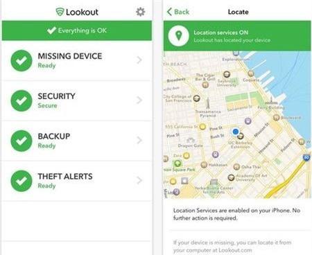 iPhone, bảo mật, ứng dụng