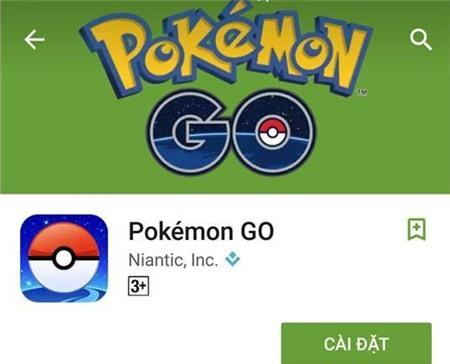 Pokemon Go chinh thuc co mat tai Viet Nam hinh anh 1