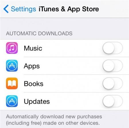 Cách tăng tốc tối đa cho iPhone 6, 5s và 5