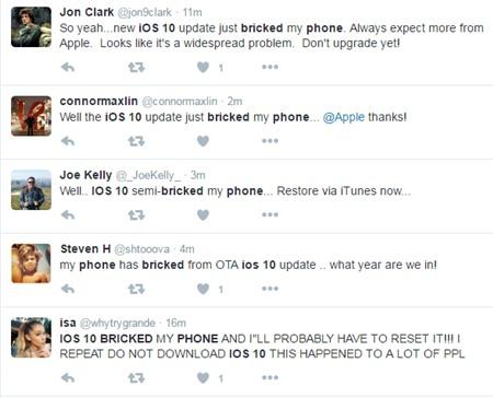 Cap nhat iOS 10 gap loi bien iPhone thanh 'cuc gach' hinh anh 1