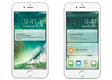 10 thay đổi lớn nhất trên iOS 10 - 1