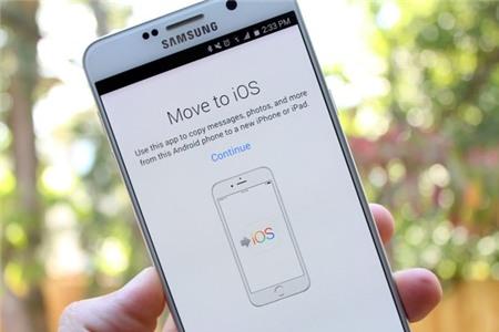 Cách chuyển dữ liệu từ Galaxy Note 7 sang iPhone và máy Android khác